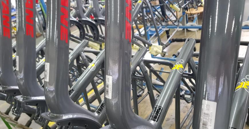 Notre usine de vélos électriques eBikePro de Romilly-sur-Seine